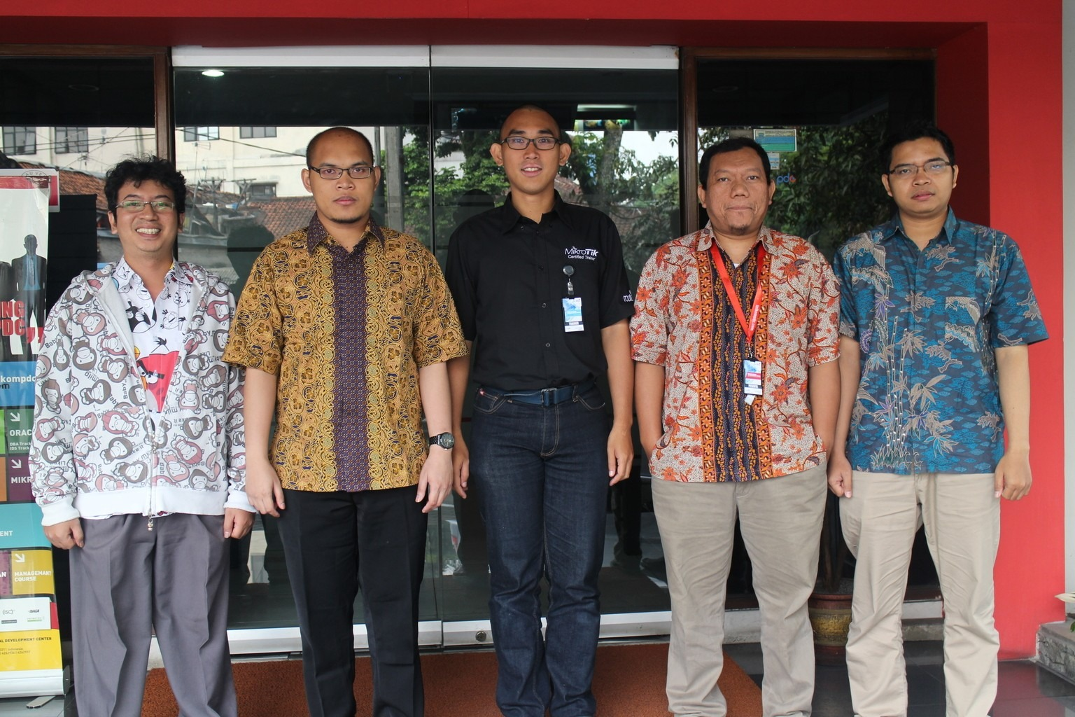 May 2015, MTCNA training, Bandung