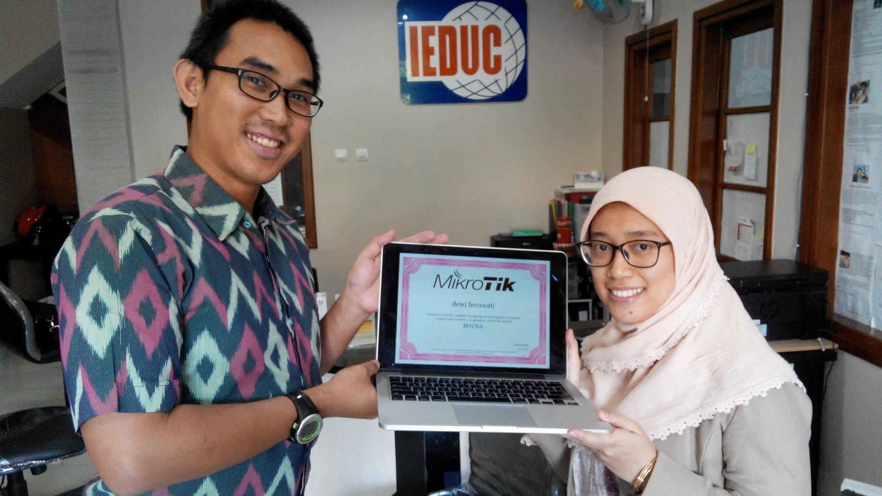 June 2016, MTCNA training, Bandung