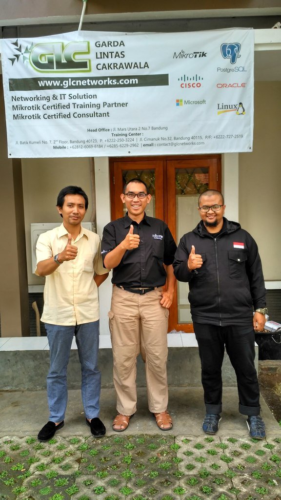September 2016, MTCNA training, Bandung