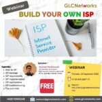 "September 2020, Webinar ""Build your own ISP"""