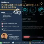 "November 2020, Webinar ""PERMISSION & ACCESS CONTROL LIST IN UNIX/LINUX"""