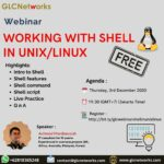 """December 2020, Webinar """"WORKING WITH SHELL IN UNIX/LINUX"""""""