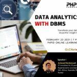 "February 2021, Webinar ""Data Analytics with DBMS"""
