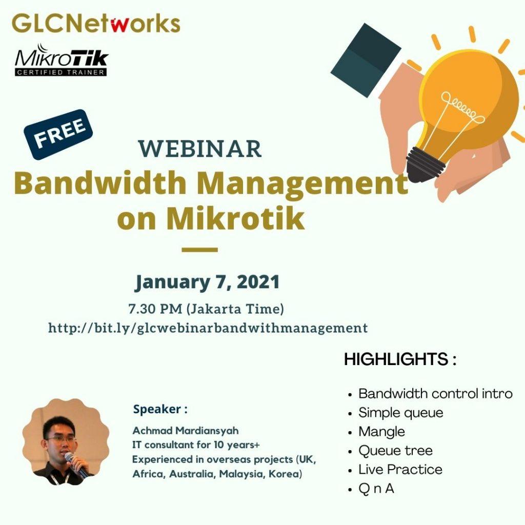 Bandwidth Management on Mikrotik