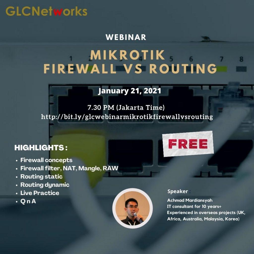 Mikrotik Firewall vs Routing