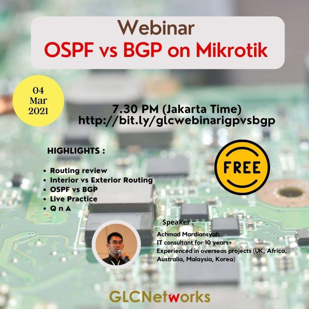 OSPF vs BGP on Mikrotik