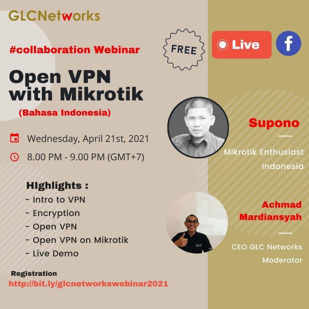 Open VPN on Mikrotik