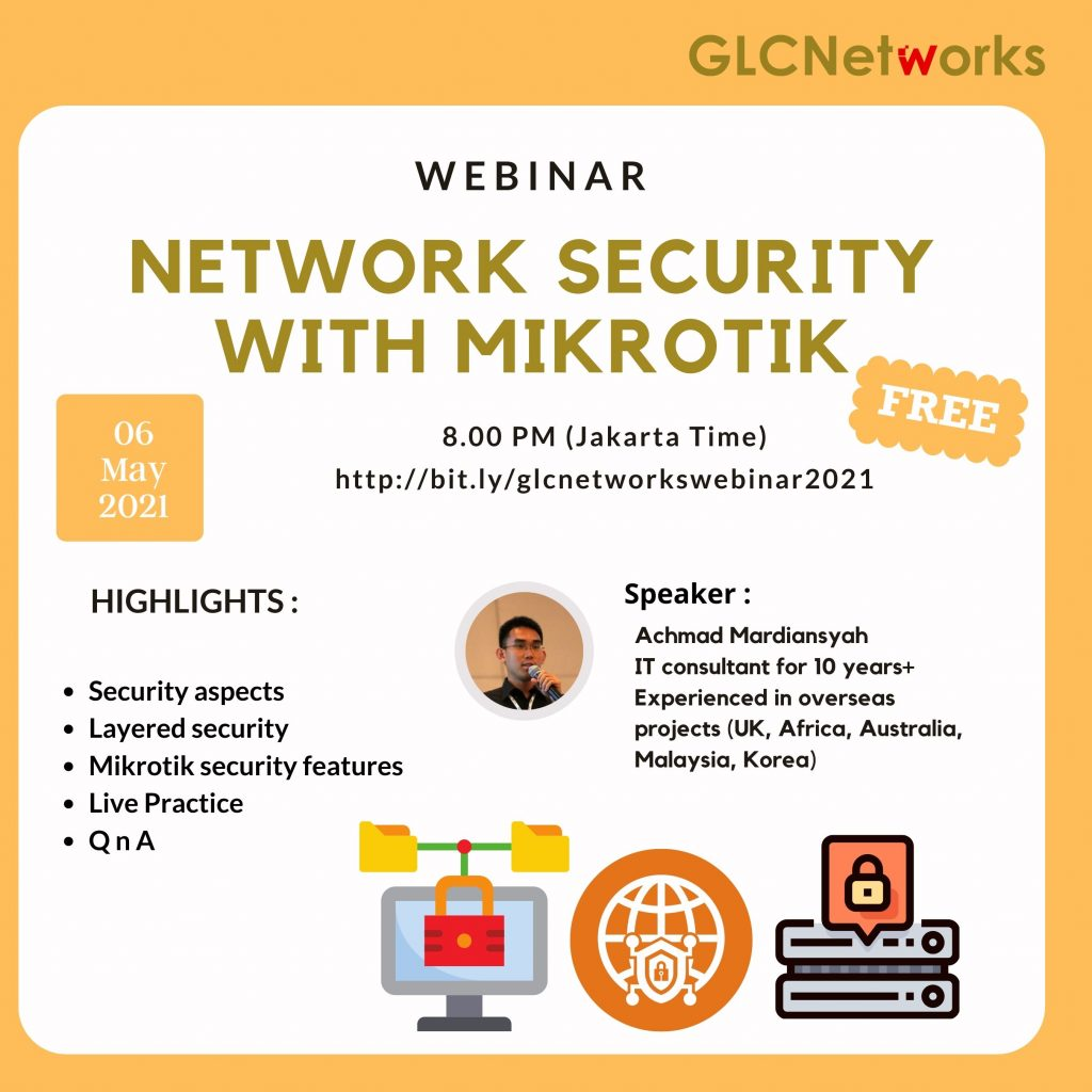 Network Security with Mikrotik, (Mitigate DDOS, Malware, and other attacks on Network)