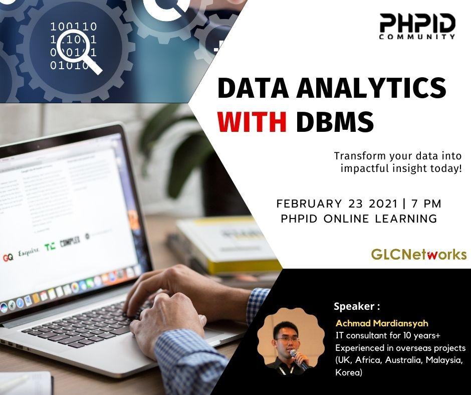 Data Analytics DBMS