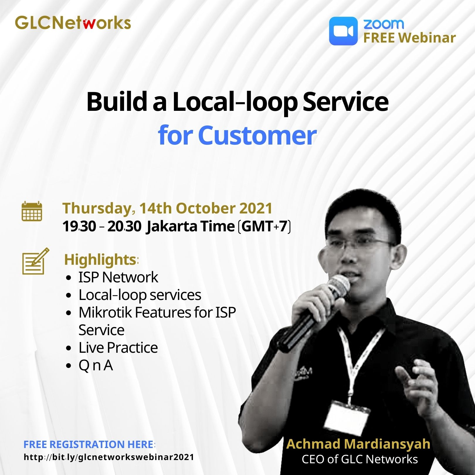 Build a Local-loop Service for Customer