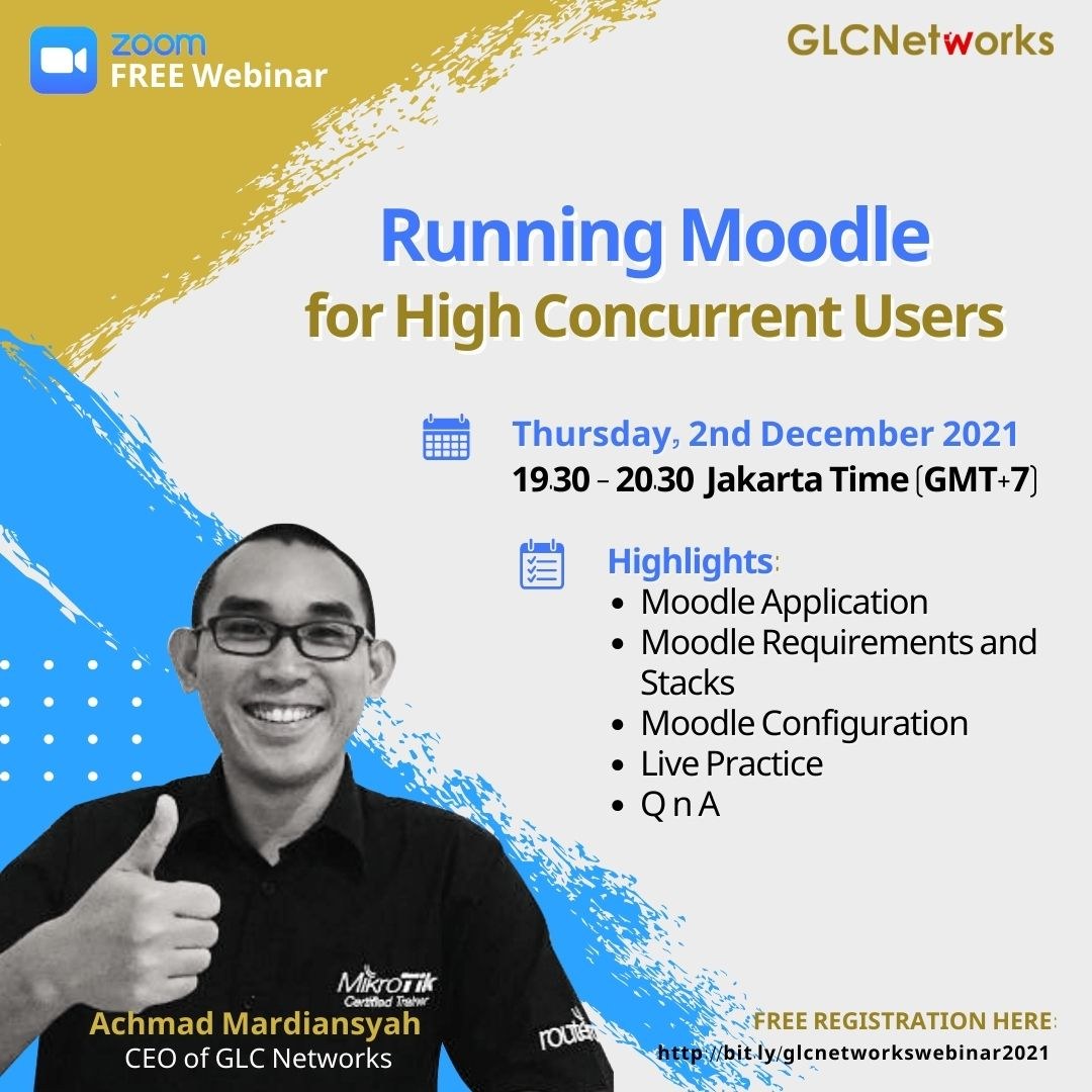 Running Moodle for High Concurrent Users
