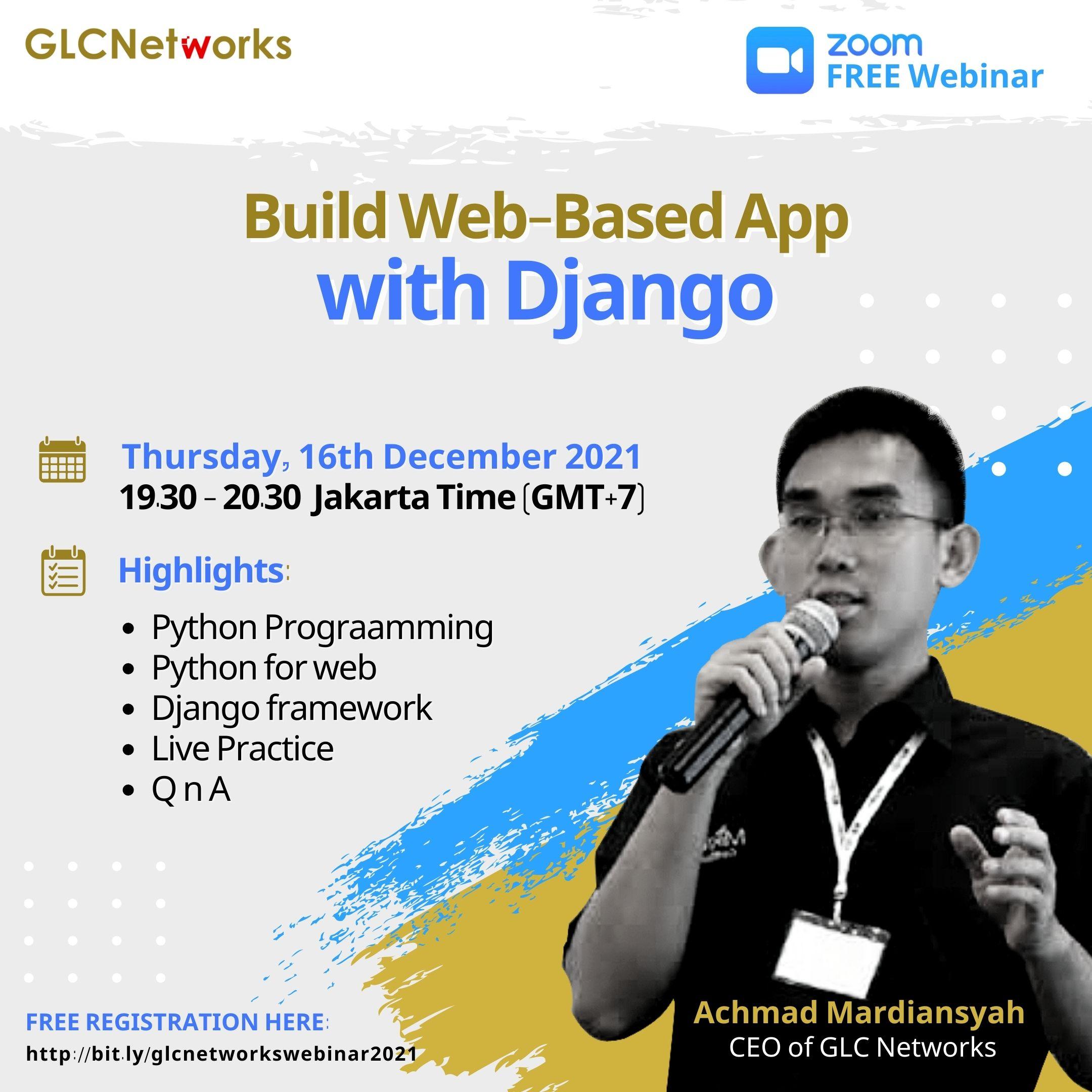 Build Web-Based App with Django