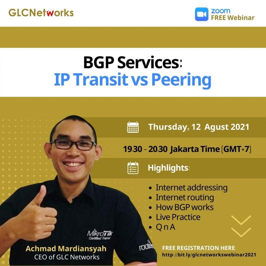 BGP Services_IP transit vs Peering