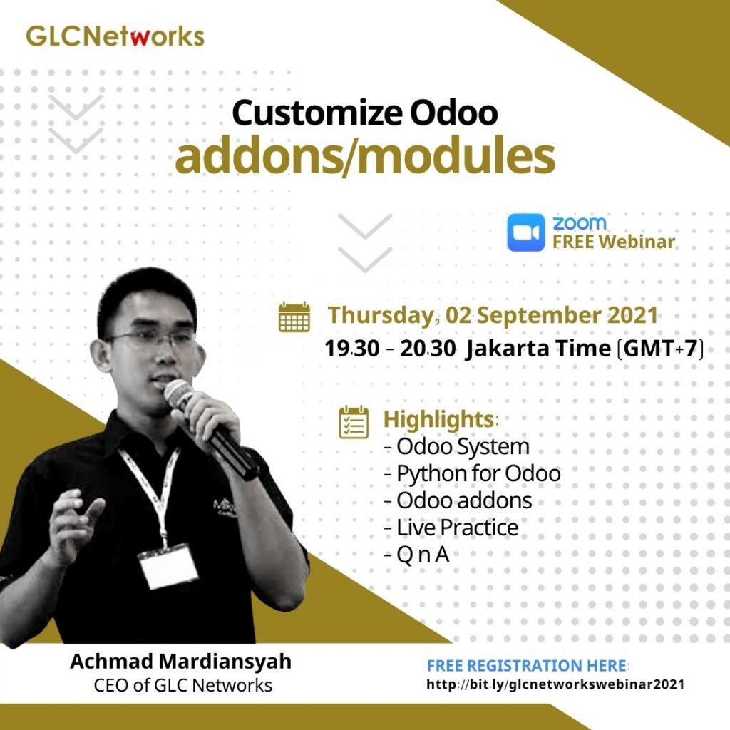 Customise Odoo Addons:Modules