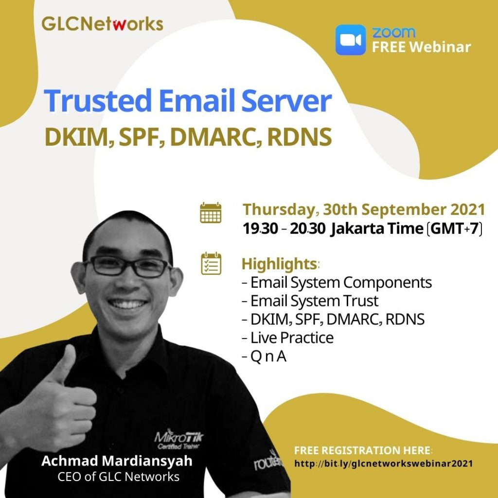 Trusted Email Server_DKIM, SPF, DMARC, RDNS