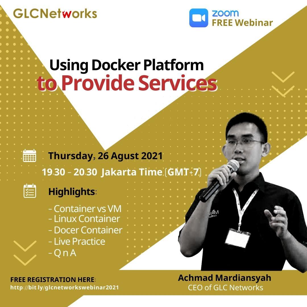 Using Docker Platform to Provide Services
