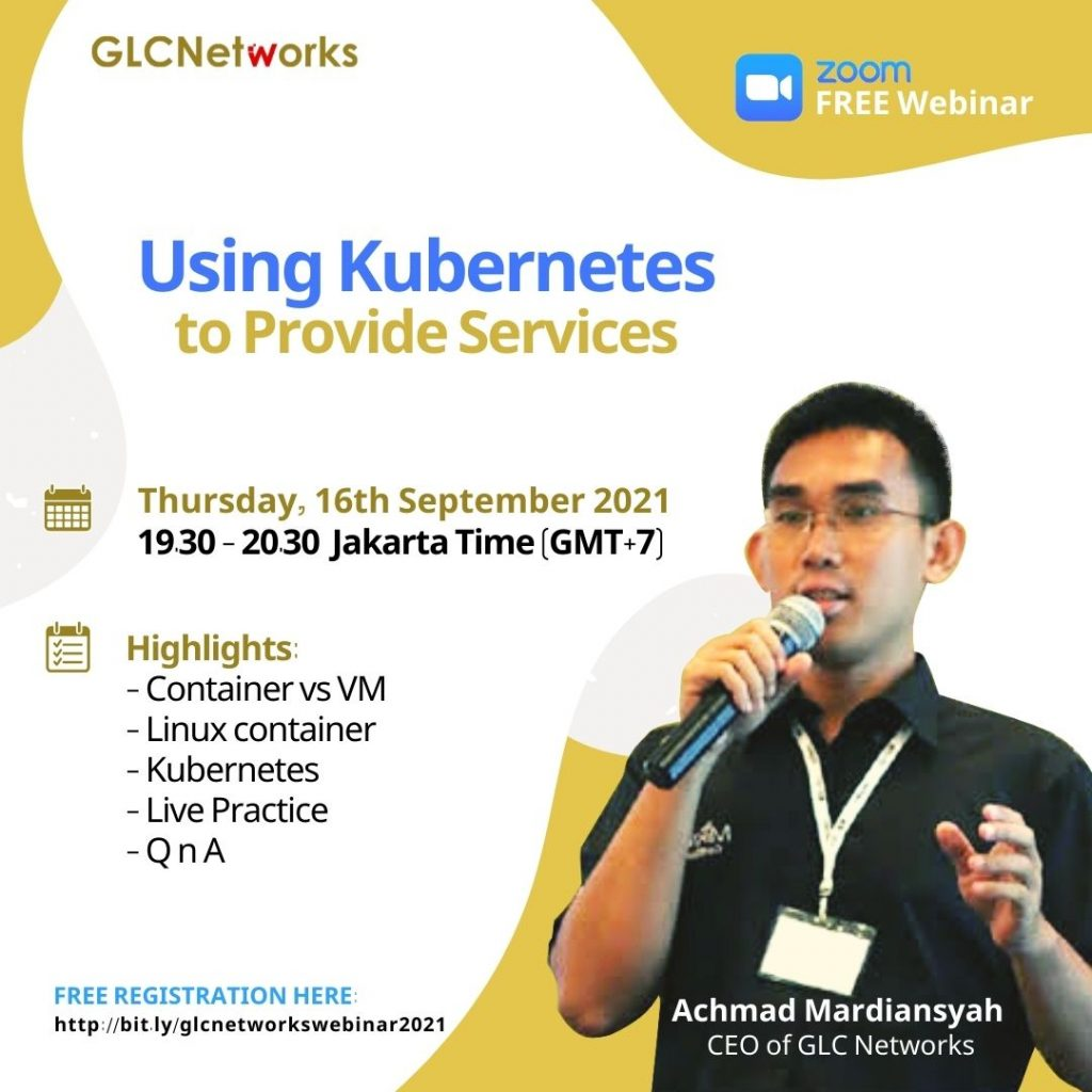 Using Kubernetes to Provide Services